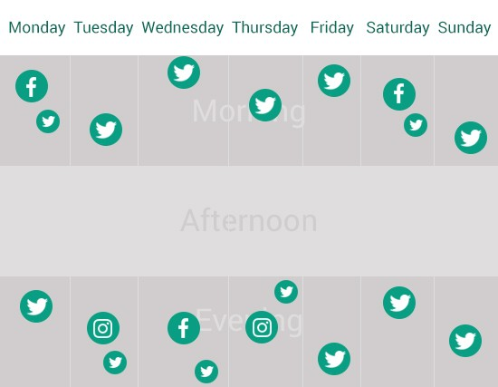 A basic guide to making a social media schedule for busy people